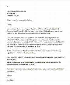 Immigration Reference Letter For A Friend Example Free 10 Reference Letters For Friend In Pdf Ms Word