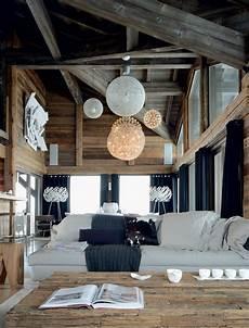 Deco Montagne Design Un Chalet Familial Sur 5 Niveaux En Savoie Id 233 Es D 233 Co
