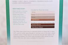 Tria Hair Removal Skin Tone Chart Tria Hair Removal Laser Amy Antoinette