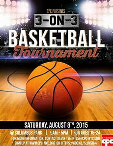 Basketball Flyer 3 On 3 Basketball Tournament Chinese American Planning