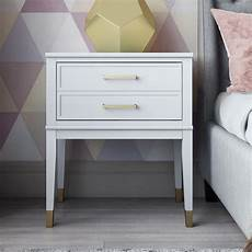 westerleigh 1 drawer nightstand bedroom makeover before