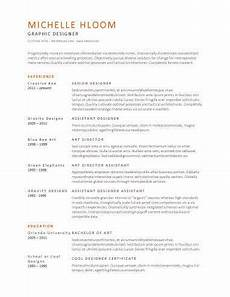 Clean Resume Template Free Simple Resume Templates 75 Examples Free Download