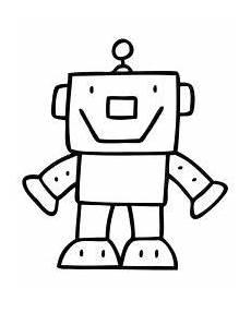 kostenlose malvorlagen roboter ausmalbilder gratis