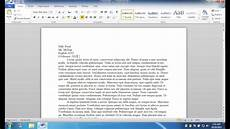 Microsoft Word Mla Mla Formatting Microsoft Word 2010 Windows Youtube