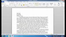 Microsoft Office Mla Format Mla Formatting Microsoft Word 2010 Windows Youtube