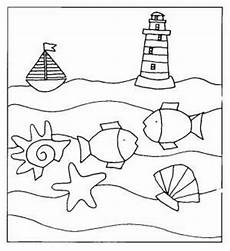 Malvorlagen Meer Und Strand Hotel Strand Meer