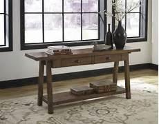 dondie rustic brown sofa table t863 4