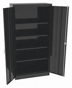 tennsco commercial storage cabinet black 72 quot h x 36 quot w x