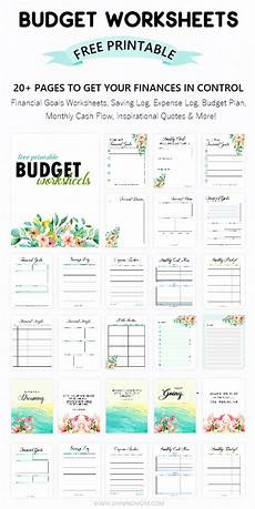 Simple Budgeting Tool Printable Budget Worksheet 20 Free Tools To Be