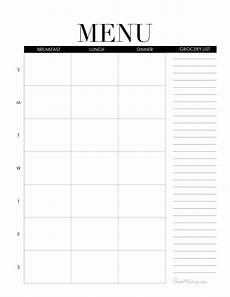 Weekly Dinner Schedule Mini Command Center With Printables House Mix