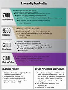 Non Profit Sponsorship Proposal Template Sponsorship Packets Google Search Event Sponsorship