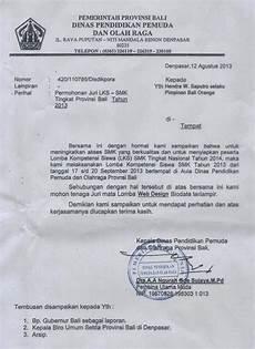contoh surat permohonan jadi juri
