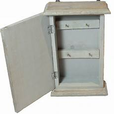 wall mounted distressed wooden key cabinet cupboard house