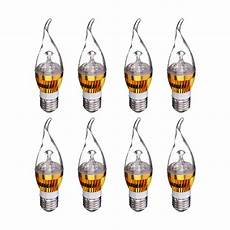 Chandelier Light Bulb Types B22 3w Warm White Led Candelabra Chandelier Candle Light