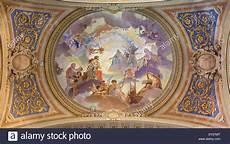 fresco baroque bologna ceiling fresco in baroque church santa