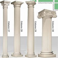 Column Types 3d Models Of Classical Columns For 3ds Max Architecture