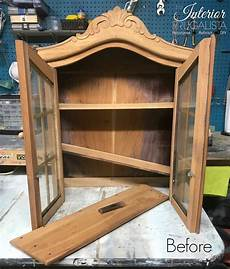 the but not so vintage wall curio cabinet