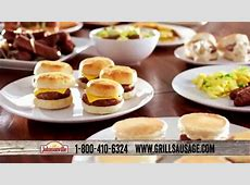 Johnsonville Sizzling Sausage Grill Plus TV Commercial