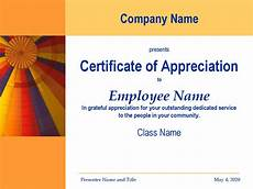 Appreciation Certificates For Employees 17 Certificate Of Appreciation Templates Free Printable