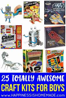 25 awesome craft kits for boys happiness is