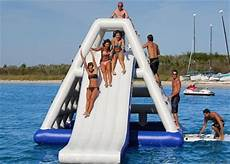 Floating Slide High Class Giant Inflatable Slide Inflatable Floating