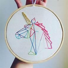 embroidery unicorn unicornio bordado padr 245 es de