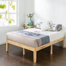 zinus moiz 14 quot wood platform bed walmart