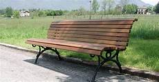 arredo urbano panchine panchina per esterni belllitalia in legno e ghisa modello