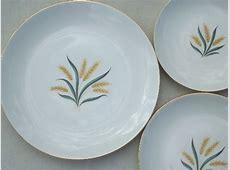 Vintage Homer Laughlin Royal Harvest wheat china