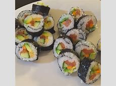 Homemade Sushi Rolls and Tamago Recipe Recipe   Kitchenbowl