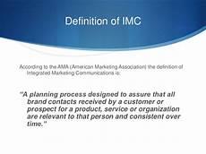 Integrated Marketing Communications Definition An Overview Of Integrated Marketing Communications Imc
