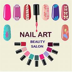 Download Nail Salon Nails Art Beauty Salon Background Stock Vector Image