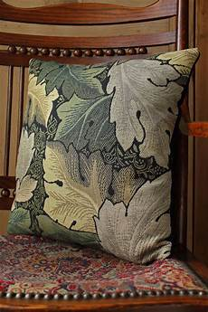william morris acanthus tapestry cushion cover green