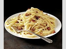 Classic Pasta Carbonara   Recipe   FineCooking