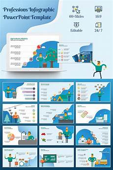 Creating A Template In Powerpoint Professions Infographic Powerpoint Template 73374