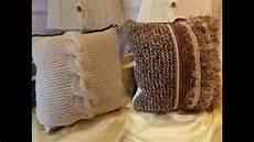 stricken deko diy wir stricken ein deko zopf wende kissen home deko 10