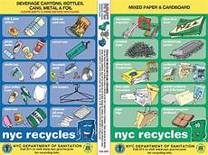 Nyc Recycling Chart Basics Of Recycling In New York City Upcycle Nyc