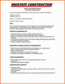 Company Resume Examples 9 Construction Company Resume Template Company Letterhead