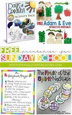 Sunday School Printables Free Sunday School Printables