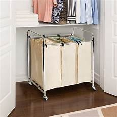clothes 3 section shop seville heavy duty 3 bag laundry her sorter free