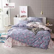 slowdream flamingo bedding set comforter