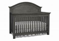 lucca toddler guard rail in weathered grey by dolce babi