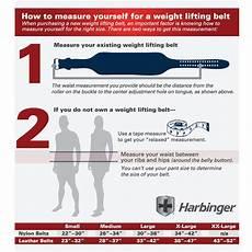 Everlast Weight Lifting Belt Size Chart Weight Lifting Belt 4 Quot Harbinger H5082 Orbit Fitness