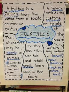 Fable Anchor Chart 2nd Grade Folktales Anchor Chart 6th Grade Folktale Anchor Chart