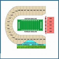 Ross Ade Stadium Seating Chart Rows Purdue Boilermakers Tickets October 28 2017 At 5 00 Pm