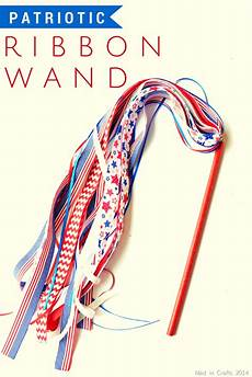 Design Your Own Ribbon Patriotic Ribbon Wand Mad In Crafts