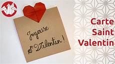 Cartes St Valentin Origami Carte Pour La Saint Valentin Senbazuru Youtube