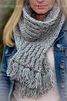 loom knit honeycomb scarf loom knitting by this