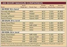 300 Wsm Ballistics Chart Pick The Best 300 Short Mag Rifle Shooter