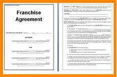 Franchise Contract Samples Franchise Agreement Sample For Bakery